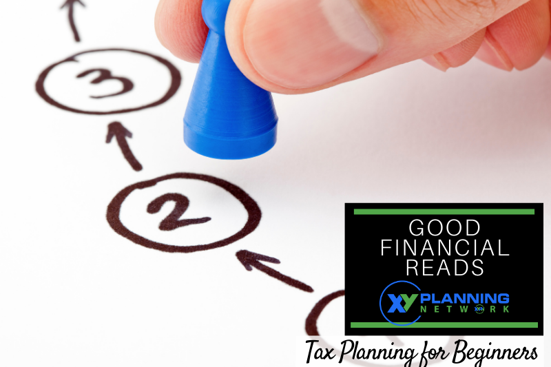 Good Financial Reads: Tax Planning for Beginners